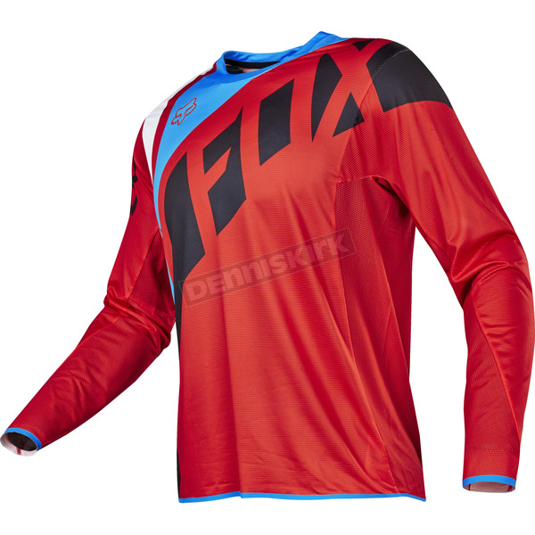Fox Red Flexair Seca Jersey - 17239-003-XL