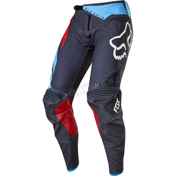 Fox Gray/Red Flexair Seca Pants - 17240-037-34