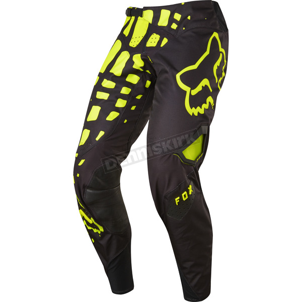 Fox Black/Yellow 360 Grav Pants - 17244-019-36