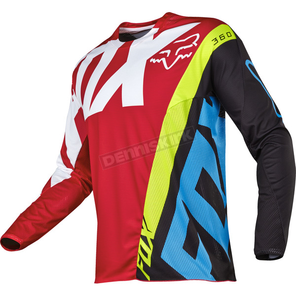 Fox Red 360 Creo Jersey - 17245-003-2X