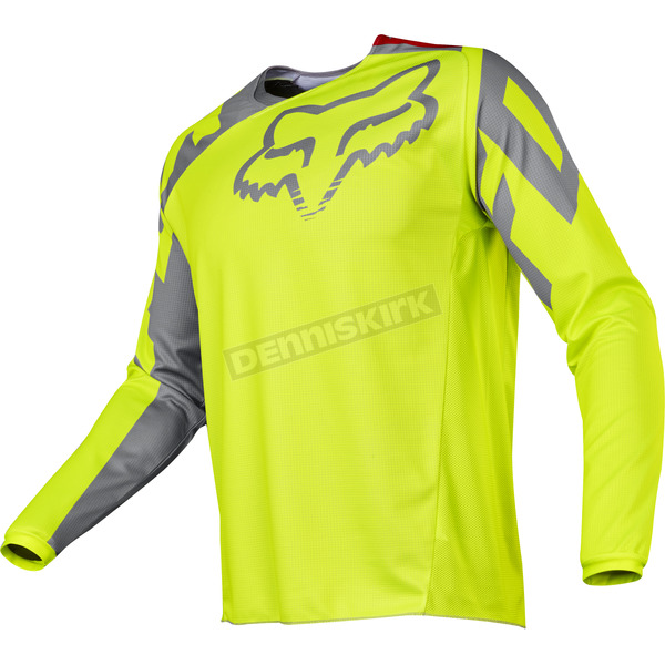 Fox Yellow 180 Race Jersey - 17253-005-2X