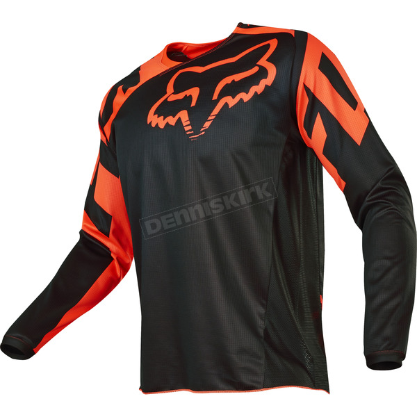 Fox Orange 180 Race Jersey - 17253-009-S