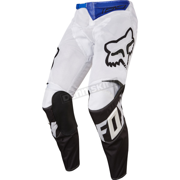 Fox White 180 Race Airline Pants - 18146-008-30