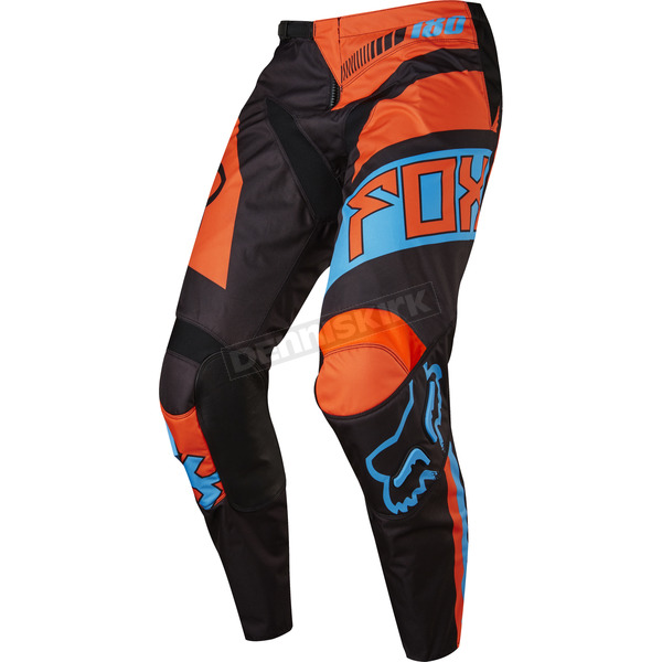 Fox Youth Black/Orange 180 Falcon Pants - 17863-016-28