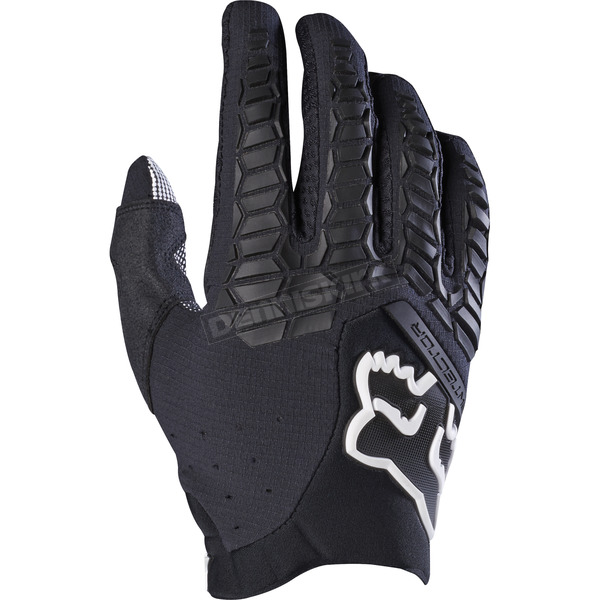 Fox Black Pawtector Gloves - 17286-001-S