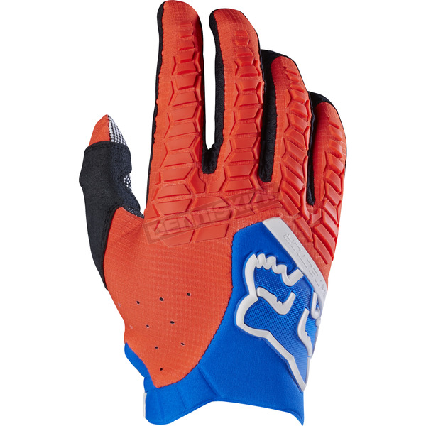 Fox Orange Pawtector Gloves - 17286-009-S