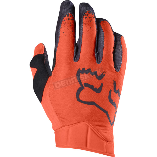 Fox Orange Airline Moth Gloves - 17287-009-2X