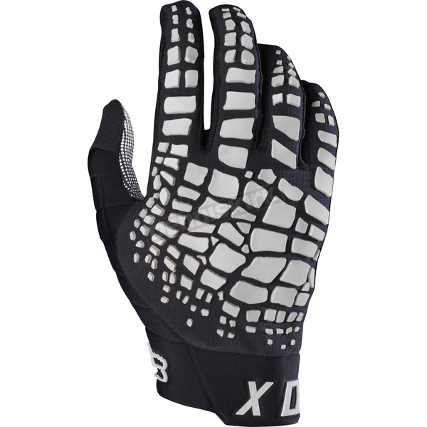 Fox Black 360 Grav Gloves - 17289-001-L