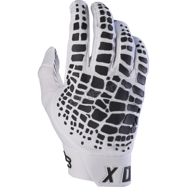 Fox White 360 Grav Gloves - 17289-008-M