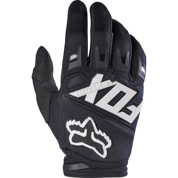 Fox Youth Black Dirtpaw Gloves - 17297-001-S