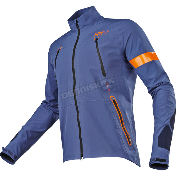 Fox Blue Legion Downpour Jacket - 17752-002-L