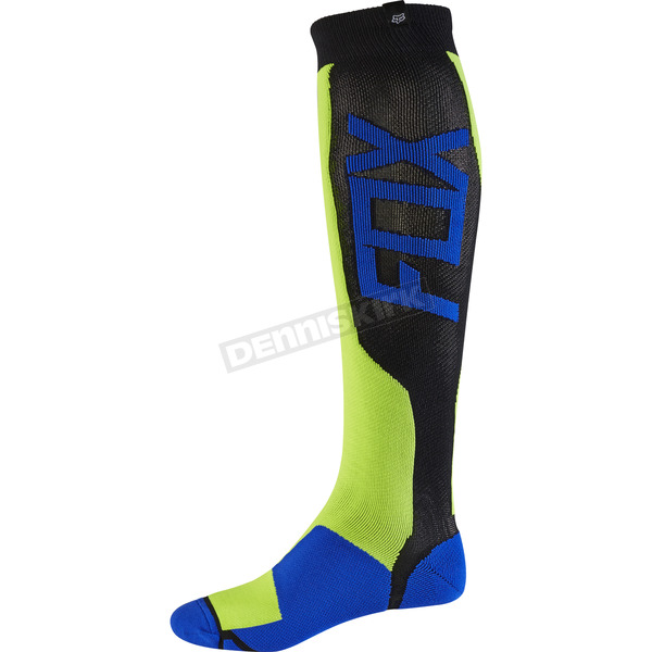 Fox Yellow MX Tech Socks - 15194-005-S/M