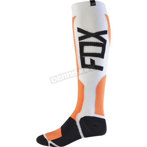 Fox Orange MX Tech Socks - 15194-009-S/M
