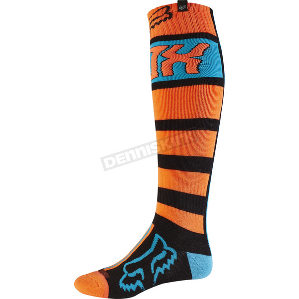 Fox Black/Orange Fri Falcon Thick Socks - 17812-016-S
