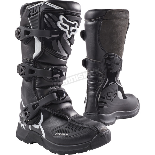 Youth Black Comp 3 Boots - 18238-001-1
