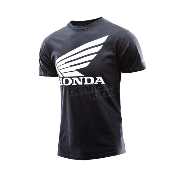 Troy Lee Designs Youth Black Honda Wing T-Shirt - 724416212