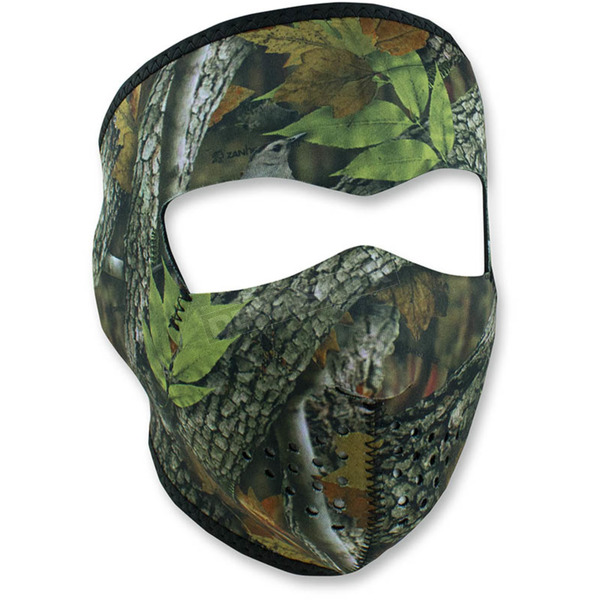 Zan Headgear Forest Green Full Face Mask - WNFM238