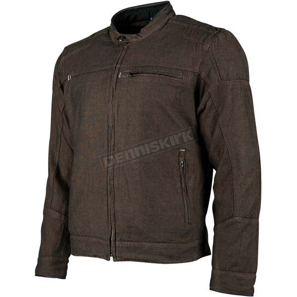 Speed and Strength Brown Overhaul Denim Jacket - 884280
