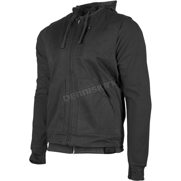 Speed and Strength Black Bikes Are In My Blood Hoody w/Vest - 884191
