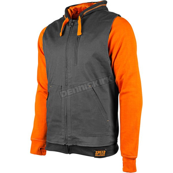 Speed and Strength Orange Bikes Are In My Blood Hoody w/Vest - 884212
