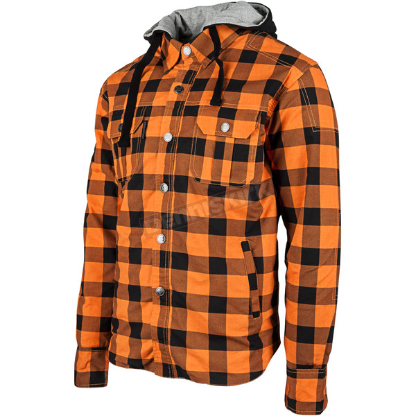 Speed and Strength Orange Standard Supply Moto Shirt - 884227