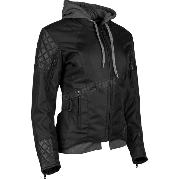Speed and Strength Women's Black Double Take Jacket - 884305