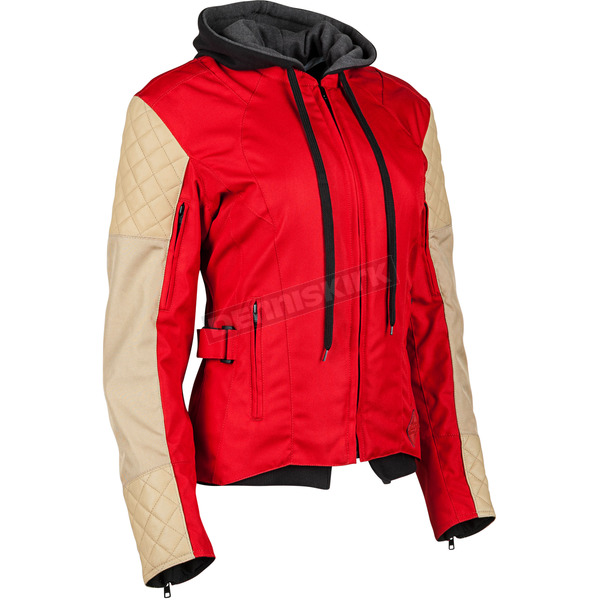 Speed and Strength Women's Red/Cream Double Take Jacket - 884312