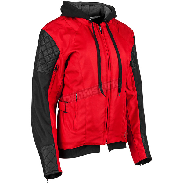 Speed and Strength Women's Red/Black Double Take Jacket - 884323