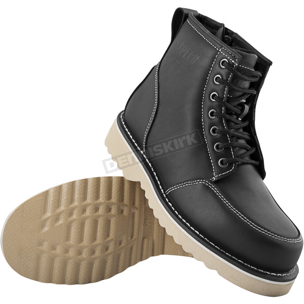 Speed and Strength Black Overhaul Boots - 884340