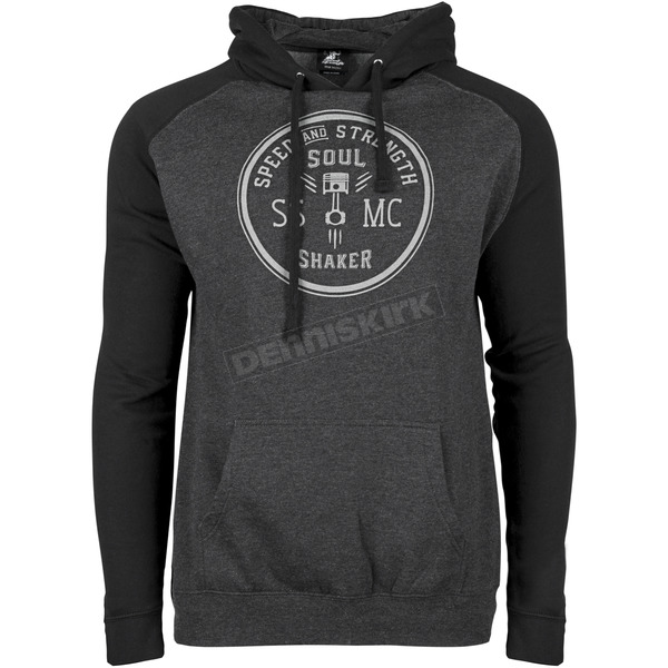 Speed and Strength Black/Gray Soul Shaker Hoody - 871604
