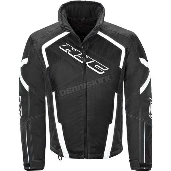 HJC Black/White Storm Jacket - 1617-056