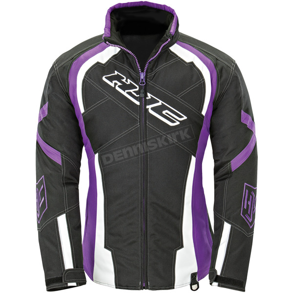 HJC Women's Black/Purple Storm Jacket - 1619-083