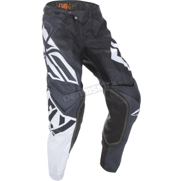 Fly Racing Black/White/Orange Evolution 2.0 Pants - 370-23032