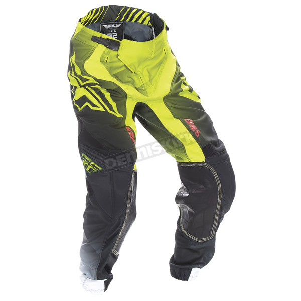 Fly Racing Lime/Black/White Lite Hydrogen Pants - 370-73536