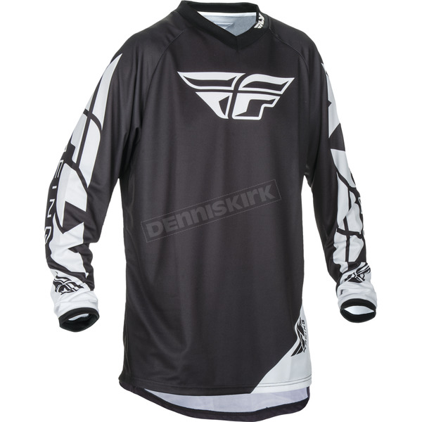 Fly Racing Black Universal Jersey - 370-9902X