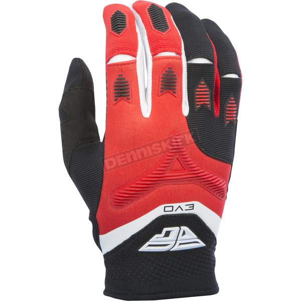 Fly Racing Red/Black Evolution 2.0 Gloves - 370-11209