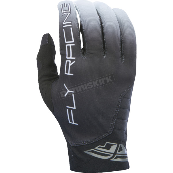 Fly Racing Black Pro Lite Gloves - 370-81009