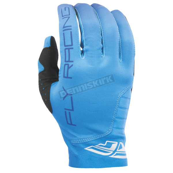 Fly Racing Blue Pro Lite Gloves - 370-81110