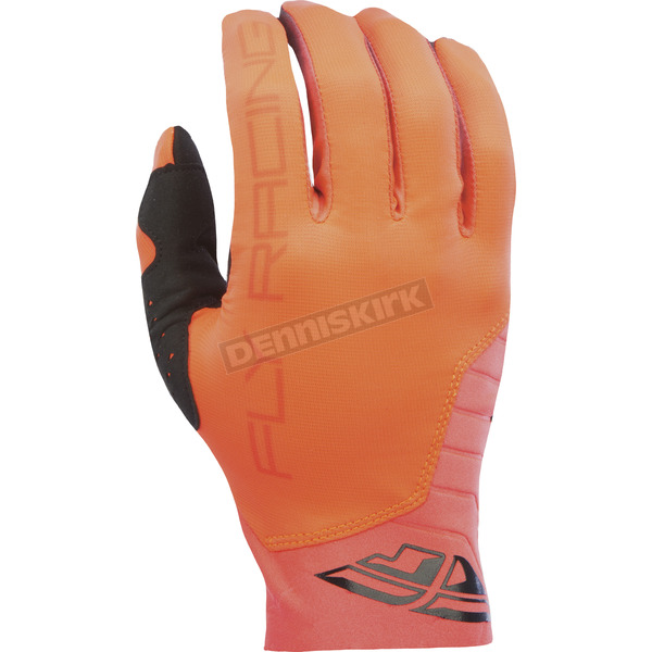 Fly Racing Orange Pro Lite Gloves - 370-81709