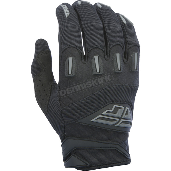Fly Racing Black F-16 Gloves - 370-91409