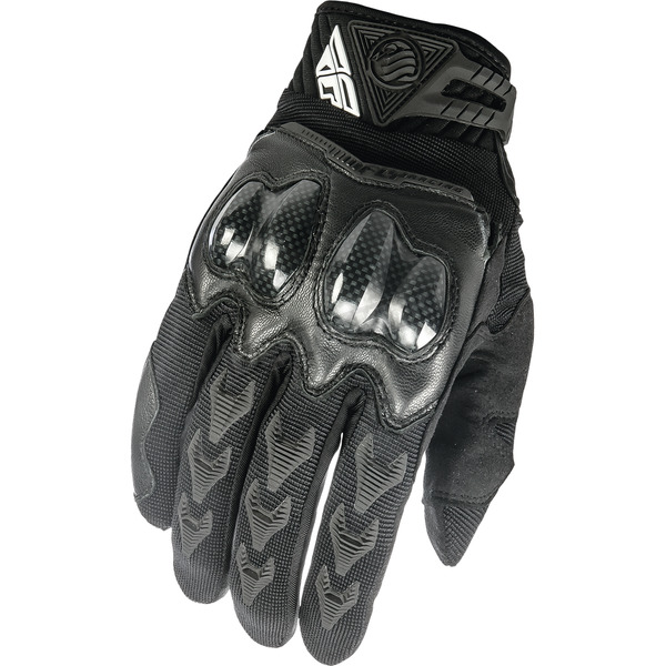 Fly Racing Black Patrol XC Gloves - 369-06012