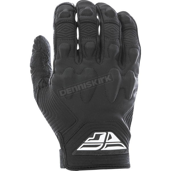 Fly Racing Black Patrol XC Lite Gloves - 370-67010
