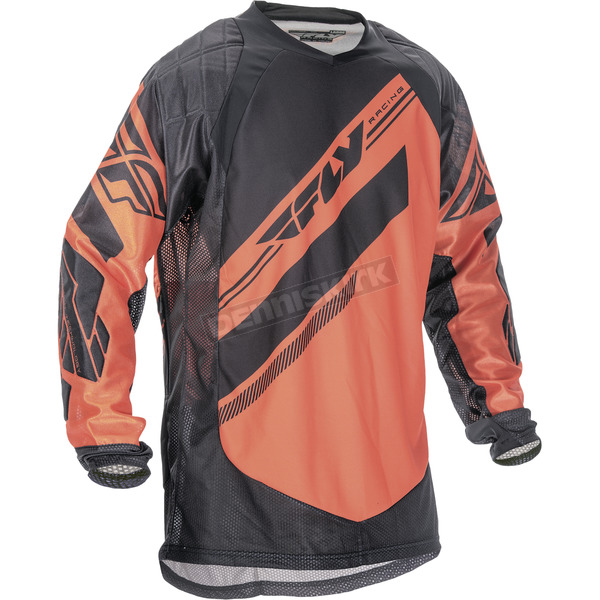 Fly Racing Orange/Black Patrol XC Jersey - 369-677M