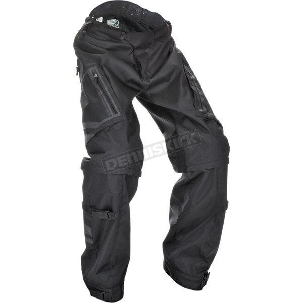 Fly Racing Black Patrol Over Boot Pants - 370-65048