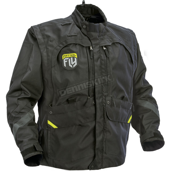 Fly Racing Black Patrol Jacket - 370-680S