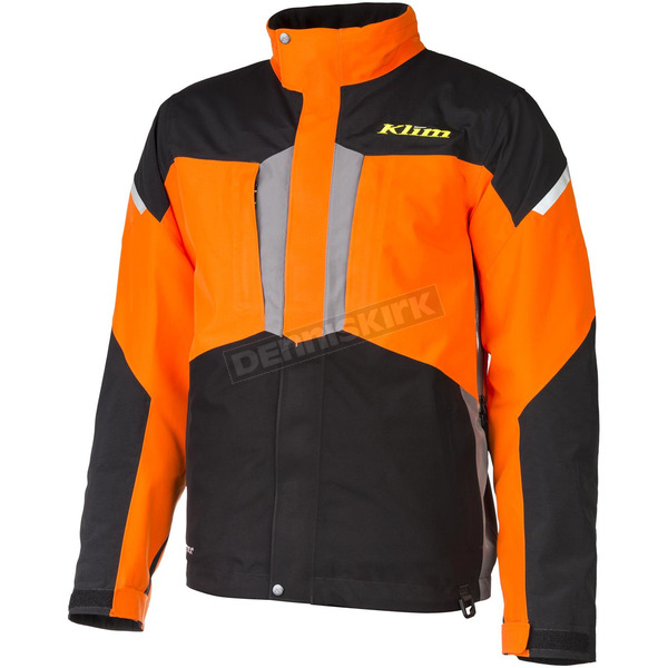 Klim Orange/Black Keweenaw Parka - 3095-002-140-400