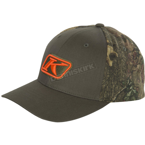 Klim Green Camo Snap Back Hat - 3140-001-000-300