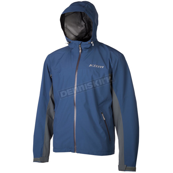 Klim Navy/Gray Stow Away Jacket - 3148-003-150-210