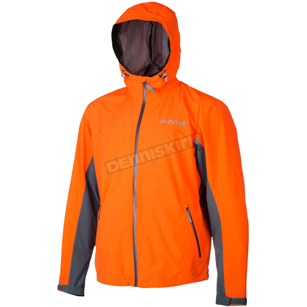 Klim Orange/Gray Stow Away Jacket - 3148-003-130-400