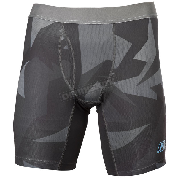 Klim Gray Camo Aggressor Cool 1.0 Briefs - 3192-000-150-330